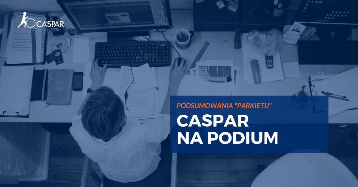 Caspar: nasze strategie biją konkurentów