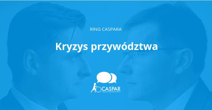 Ring Caspara, kryzys przywództwa