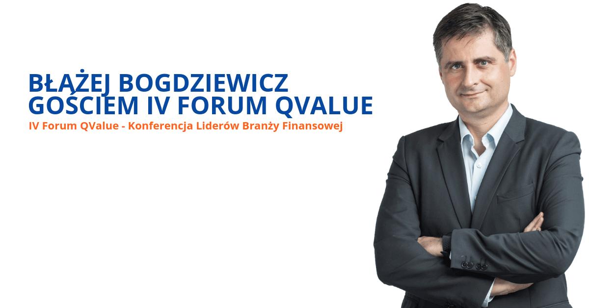 Błażej Bogdziewicz gościem IV Forum Q Value
