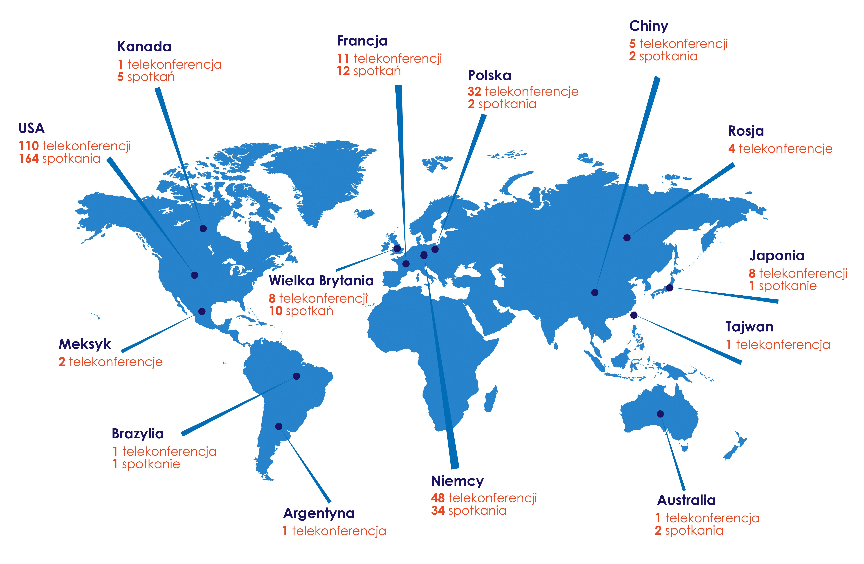 Zarządzający z Caspar rozmawiali z firmami z całego świata!